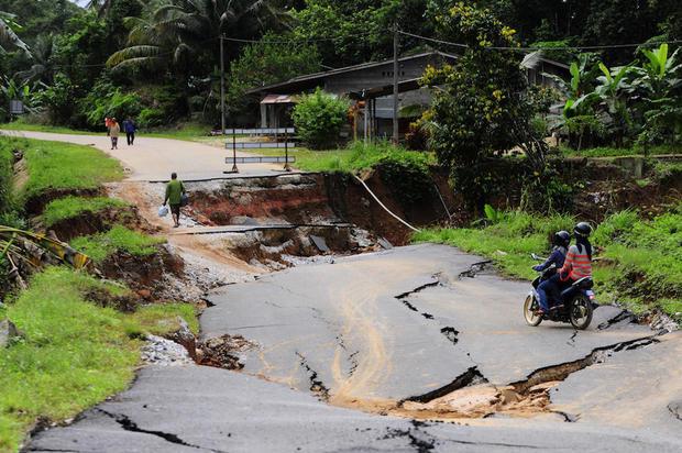 climate change flooding Malaysia
