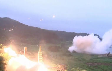 U.S. flexes military muscles after North Korea's latest missile test