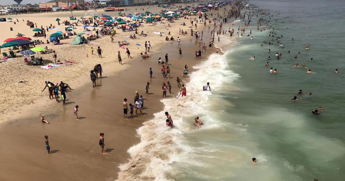Woman S Body Found On Ocean City Beach