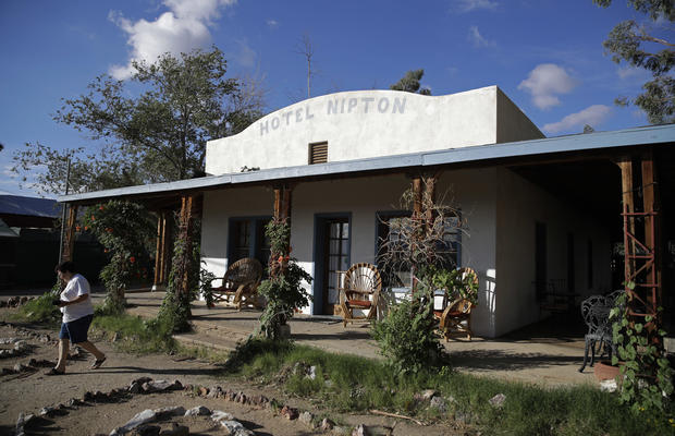 Marijuana Company Turning Nipton California Into Pot