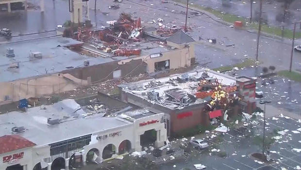 Suspected tornado causes severe damage in Maryland