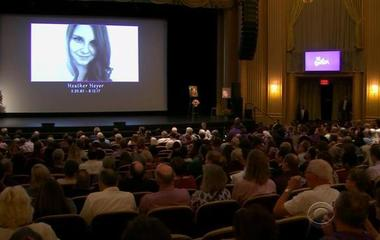 Charlottesville holds memorial service for attack victim Heather Heyer
