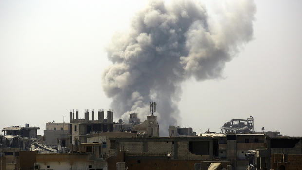 Amnesty slams coalition's reliance on ordnance in Raqqa
