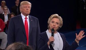 """My skin crawled"": Hillary Clinton speaks about debate with Trump"