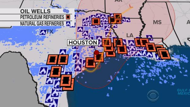 How Tropical Storm Harvey will impact California gas prices