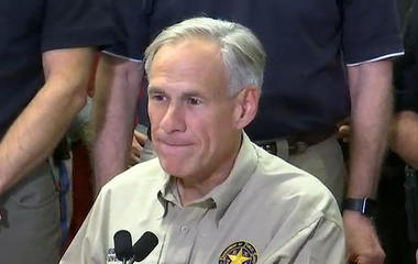 Texas Gov. Abbott gives Harvey update