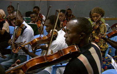 Beethoven's Ninth in the Congo