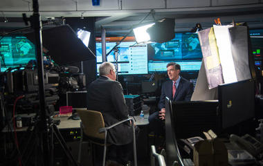 How did 60 Minutes get cameras into a spy agency?