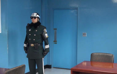 When North Korea is behind the door
