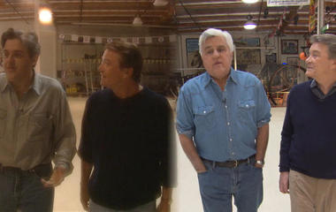 22 years later, Leno and Kroft meet again