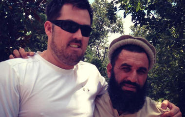 """How an Afghan and a Navy SEAL became """"brothers"""""""