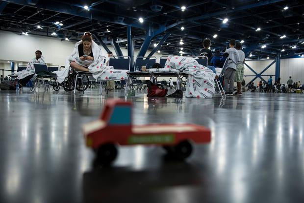 Inside Houston's emergency shelters