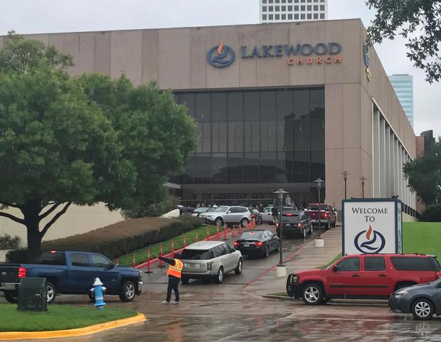 lakewood church harvey texas donations