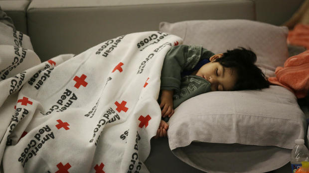 Inside Houston's emergency shelters