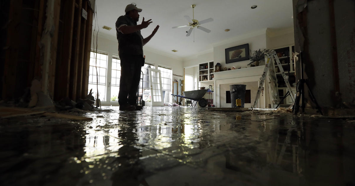 Mold A Serious Health Risk In Wake Of Harvey S Flooding