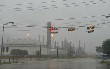 How is Hurricane Harvey impacting public health?