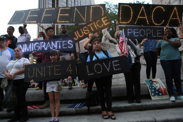 DACA protest nyc
