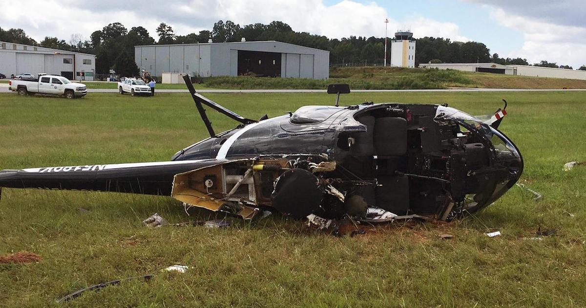 Gwinnett County police helicopter crash in Georgia near