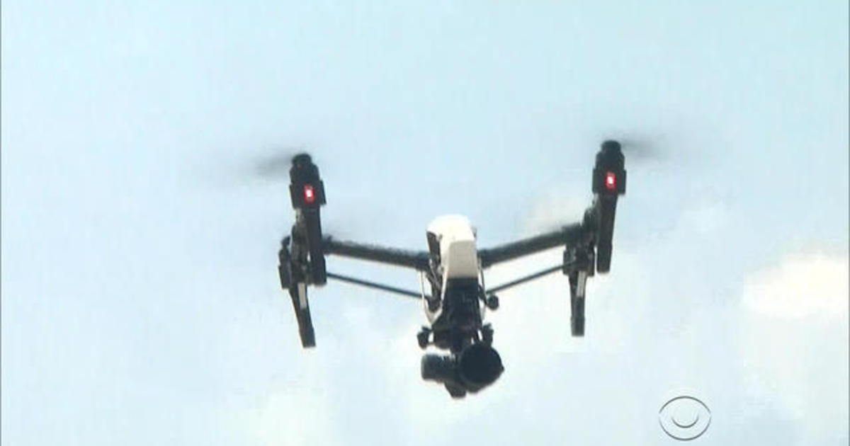 Drones and their pilots get a closer look at havoc caused by Harvey