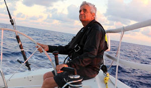 80-year-old's passion for sailing keeps him out on the open sea