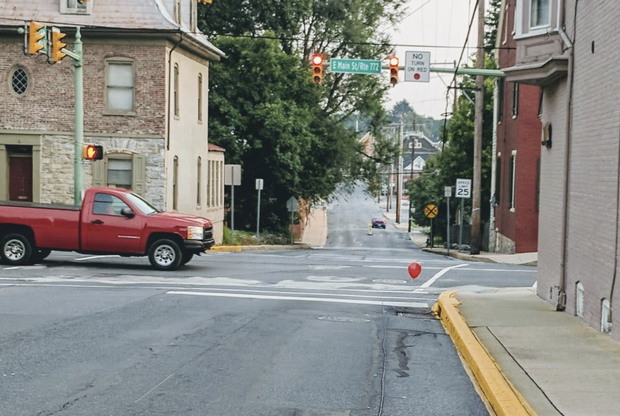 Is it Pennywise? Pa. town sees red balloons floating above sewer grates