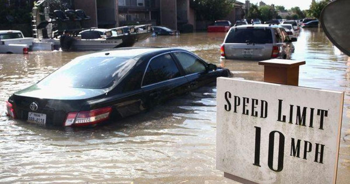 How to spot flood-damaged used cars - CBS News
