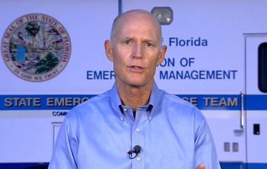 "Florida Gov. Rick Scott warns Hurricane Irma ""storm surge can kill you"""