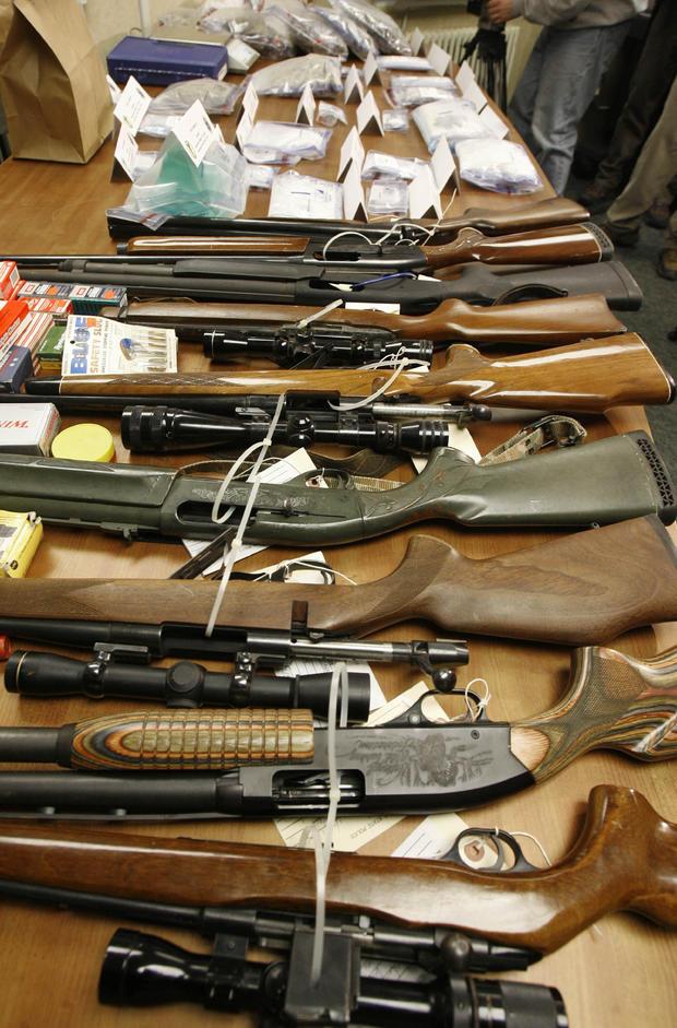 Vermont illegal guns