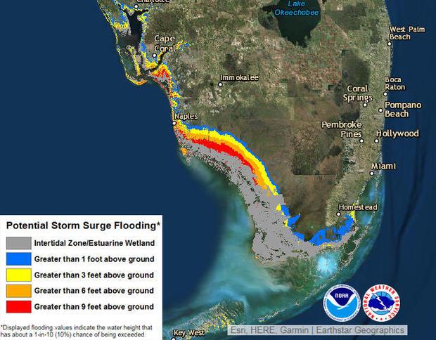 hurricane irma storm surge