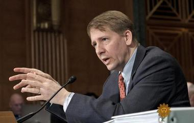 "Embattled CFPB chief Richard Cordray vows to make sure ""people are treated fairly"""