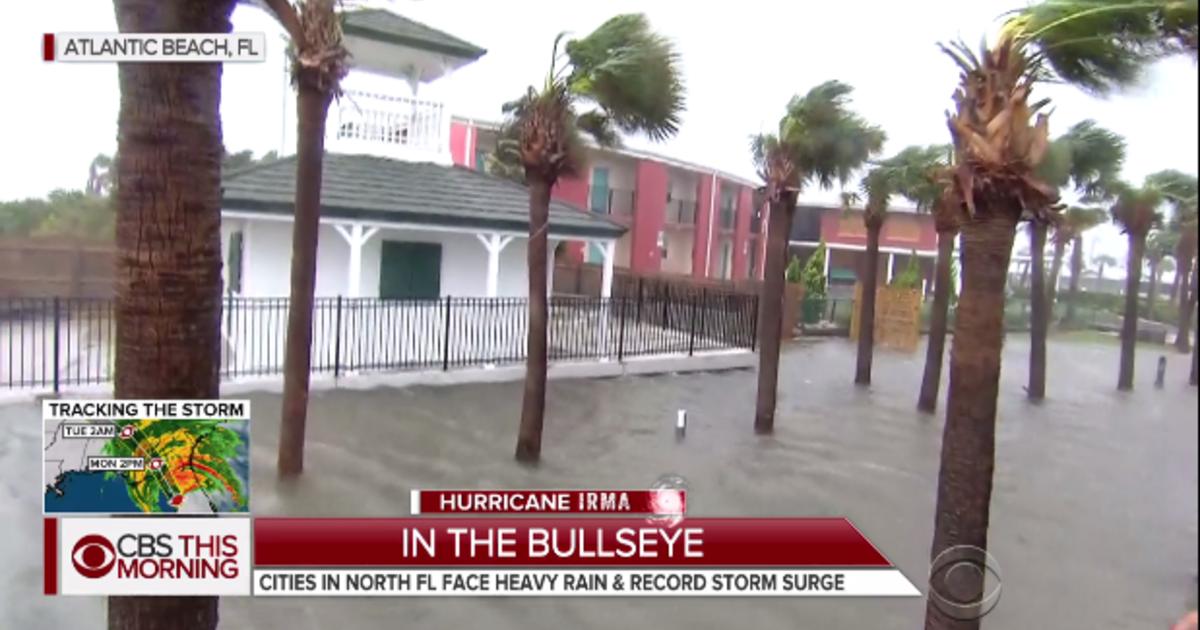 Record Setting Flooding In Wake Of Irma