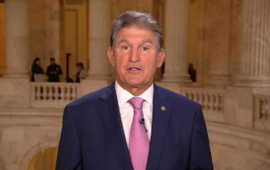"Sen. Joe Manchin: ""Open dialogue"" at bipartisan dinner on tax reform"