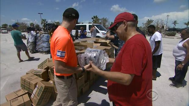 Massive recovery efforts are underway for residents stranded in the Florida Keys.                CBS News