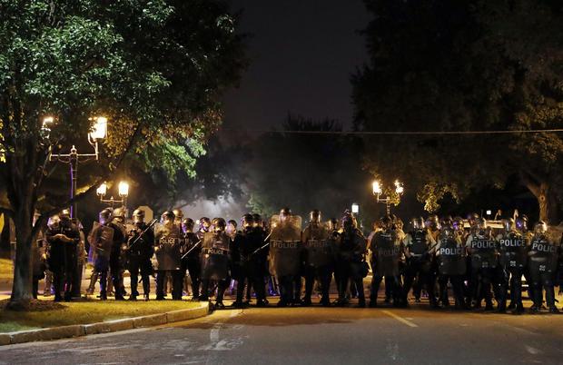 APTOPIX Police Shooting St Louis