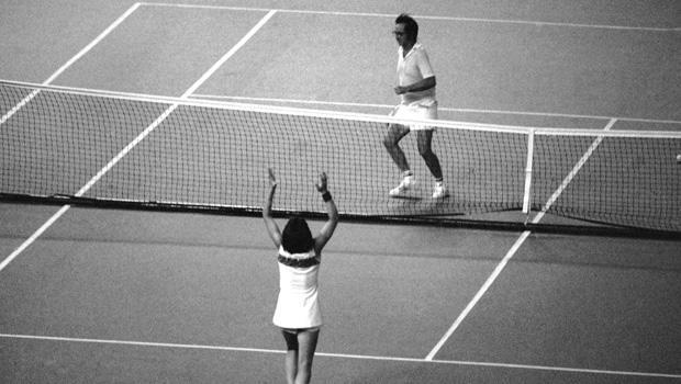 Mrs. Billie Jean King and Bobby Riggs