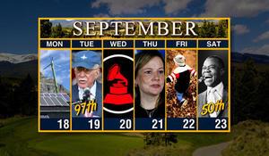 Week of September 18