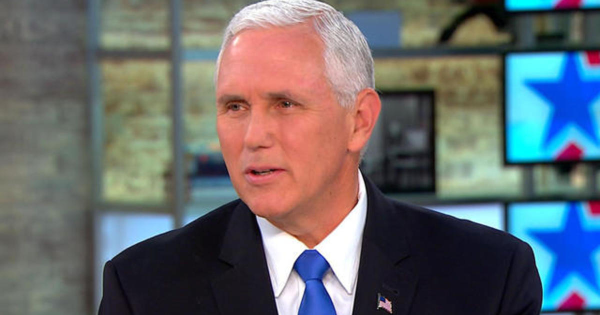"Vice President Mike Pence says ""we have options"" in North ..."