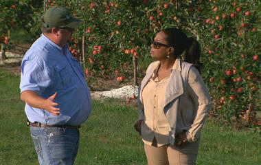 60 Minutes talks immigration with a farmer