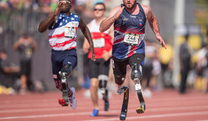 Wounded veterans command the spotlight at Invictus Games