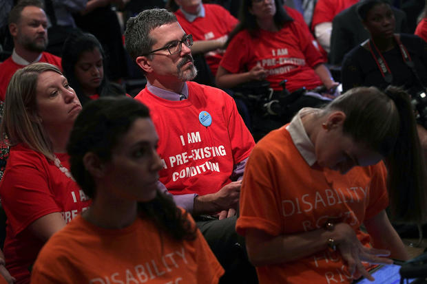Patient Groups Visit US Capitol To Urge Senate To Reject Graham-Cassidy Bill