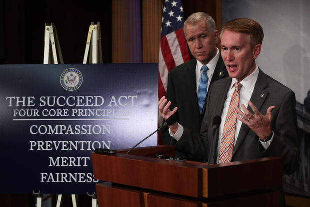 Sens. Tillis And Lankford Introduce New Legislation On Undocumented Children