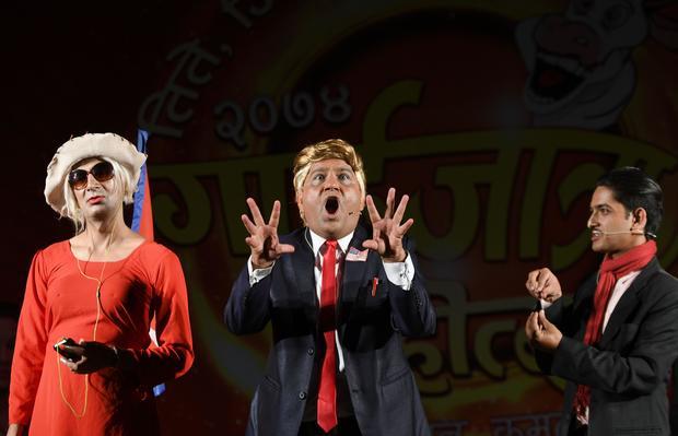 18 Trump impersonators