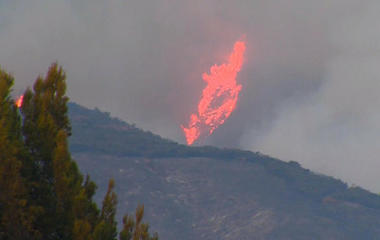 Southern California wildfire forces evacuations