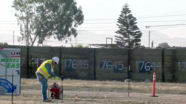 Construction Of U S Mexico Border Wall Prototypes Begins
