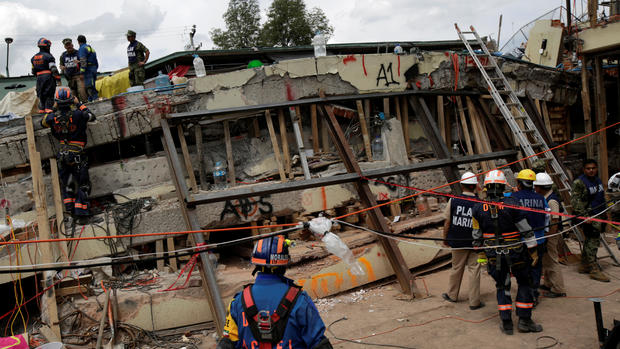 Major earthquake hits Mexico