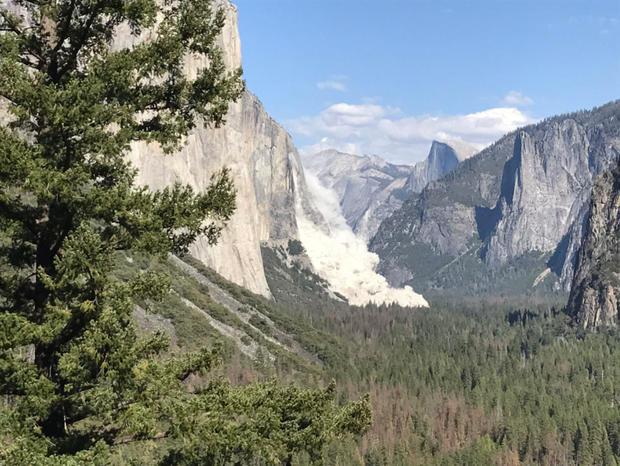 Yosemite hit by