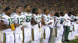 Poll finds Americans split on NFL anthem controversy