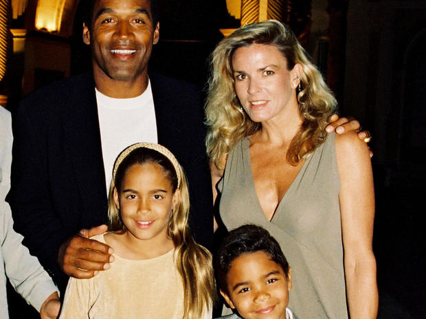 O.J., NIcole and kids
