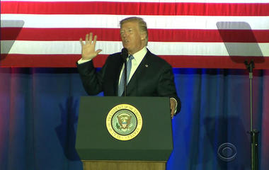 Trump works on pitching tax reform