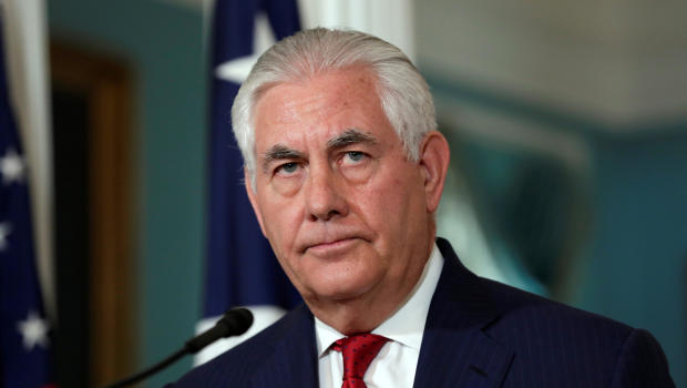 Trump says Tillerson could be tougher, but they have good relationship